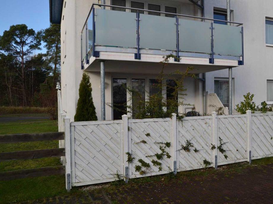 Außenaufnahme Ferienwohnung Maiglöckchen 05 strandnah Karlshagen