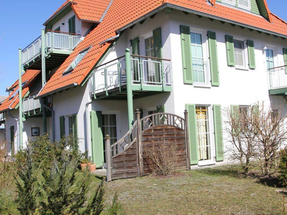 Außenaufnahme Ferienwohnung An der Düne Dünenresidenz strandnah Karlshagen