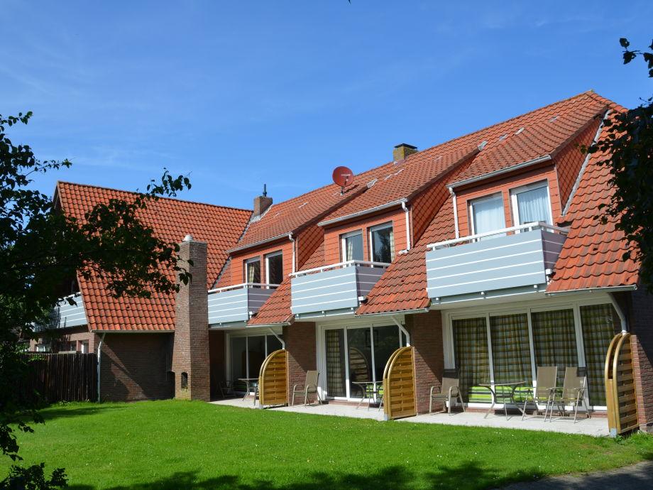 Terrassen und Balkone in der Sonne