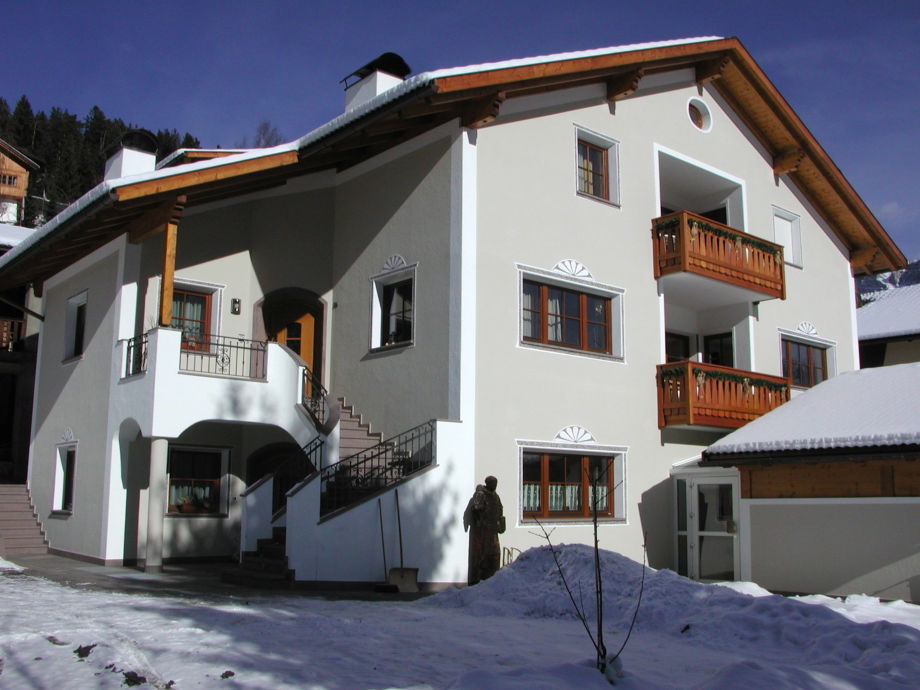 Haus Mussner im Winter