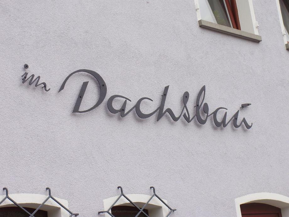 """Das Ferienhaus hat einen Namen: """"im Dachsbau"""""""