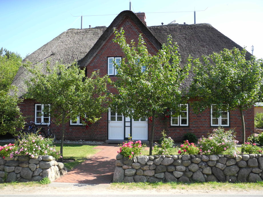 Amrum House im Frühjahr