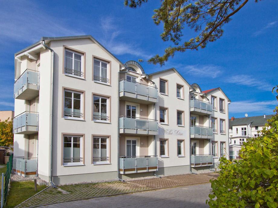 Außenaufnahme Weiße Düne 8   Appartementhaus Weiße Düne