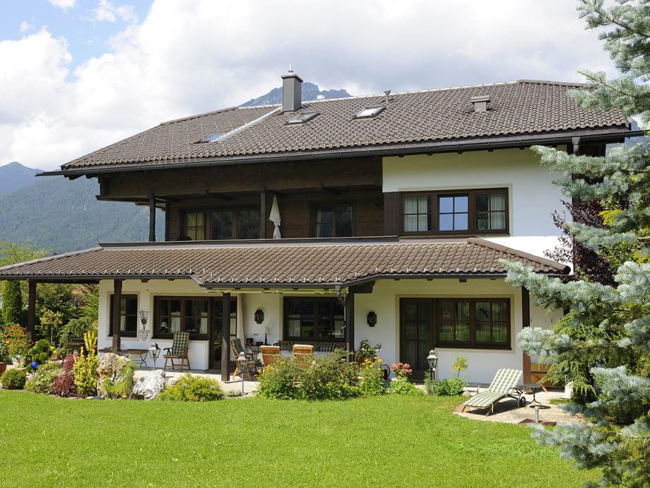 """Außenaufnahme Country house """"Zugspitze"""""""
