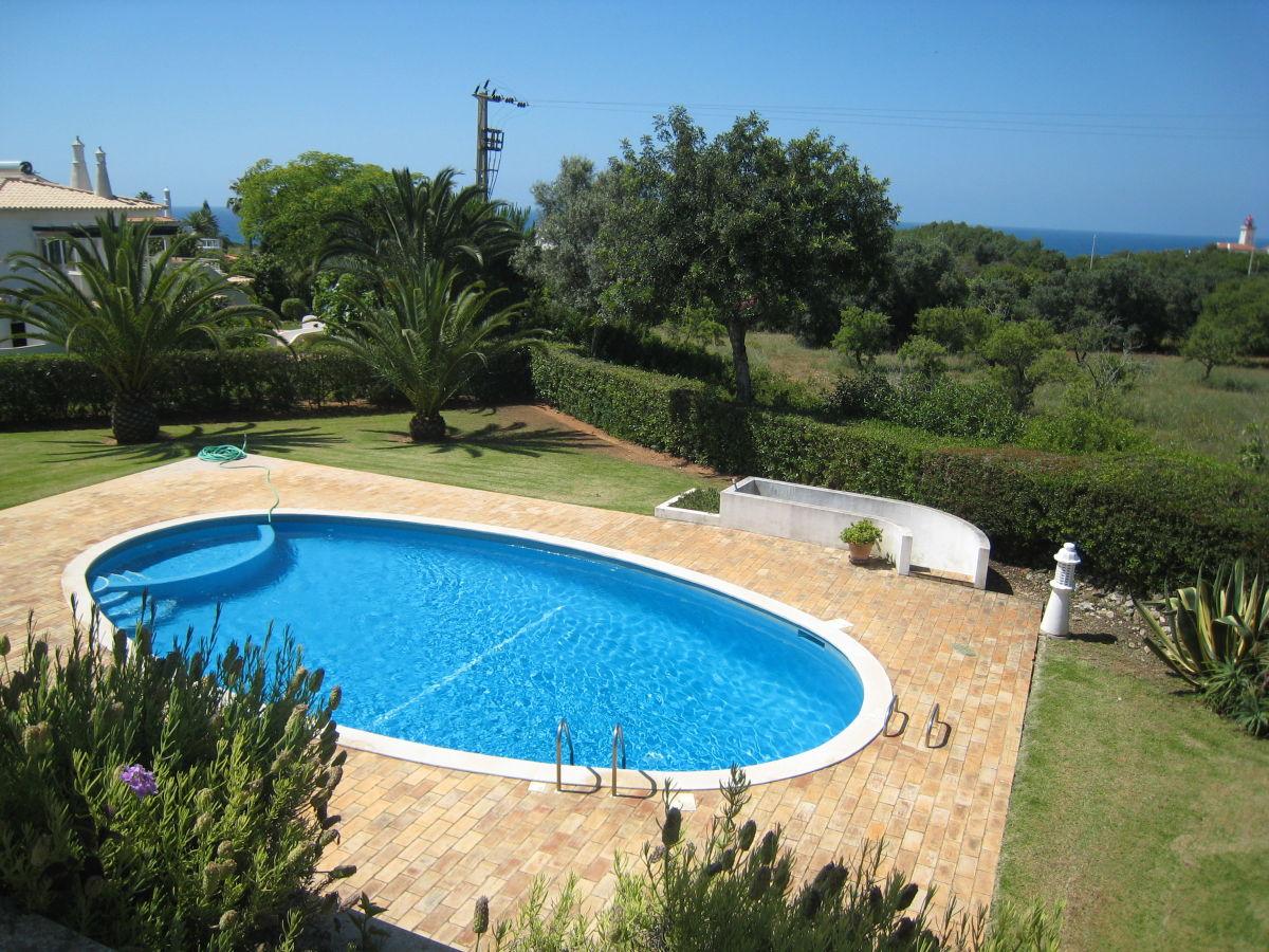 Ferienwohnung casa atlantico carvoeiro frau elena for Garten pool wanne