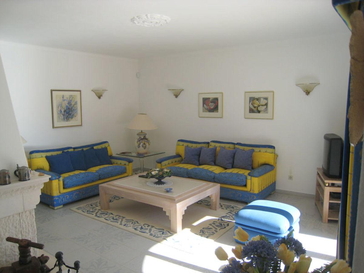 Ferienhaus vivenda larga vista albufeira m bis zum - Komplettes esszimmer ...