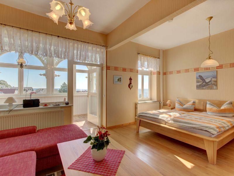 Villa Fernsicht - Ferienwohnung 3 mit Meerblick
