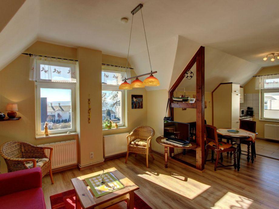 Außenaufnahme Villa Sonnenschein - Ferienwohnung Ostseeblick