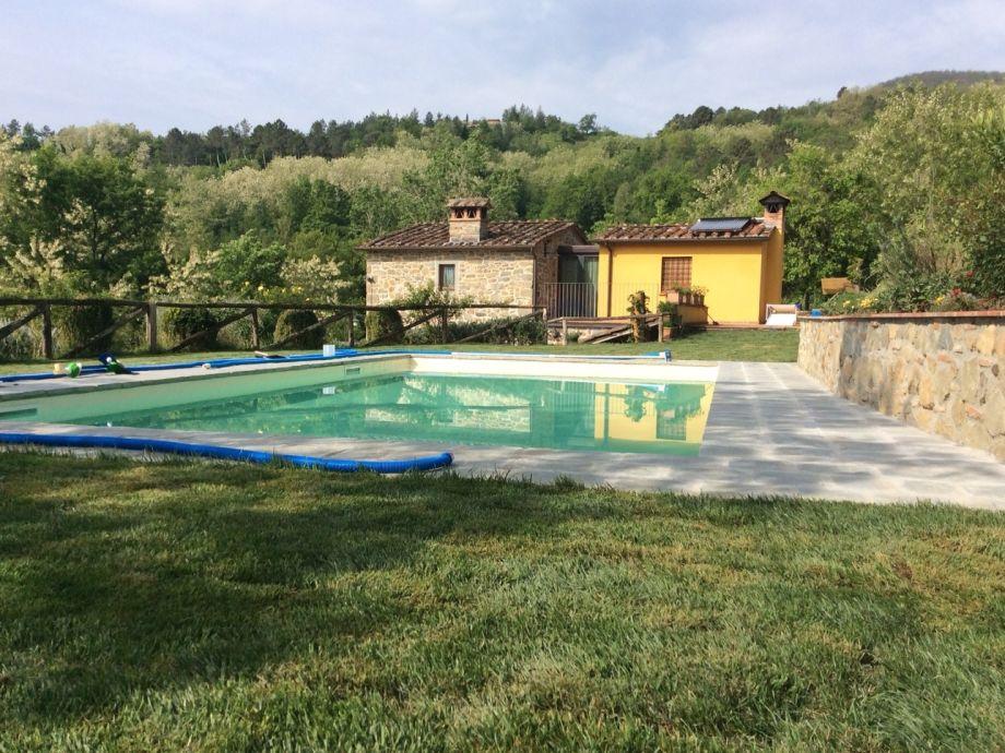 Neuer Pool eingebaut