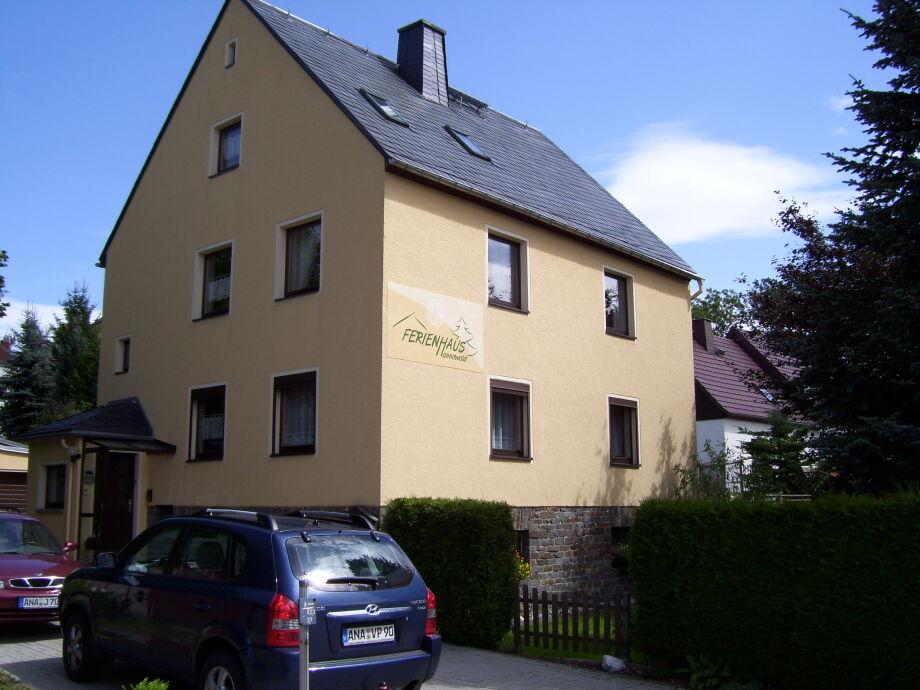Ferienhaus Hannawald mit Parkplatz