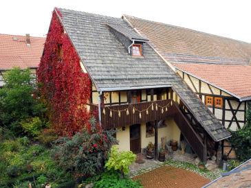 """Ferienwohnung Körnerboden auf dem Bauernhof """"Bei Matthesens"""""""