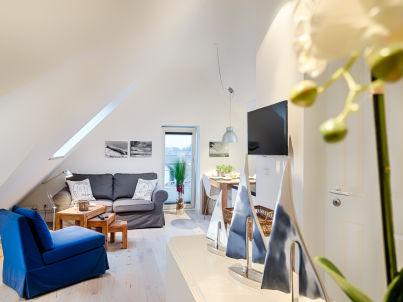 Modernes Dachstudio in bester Lage von Westerland