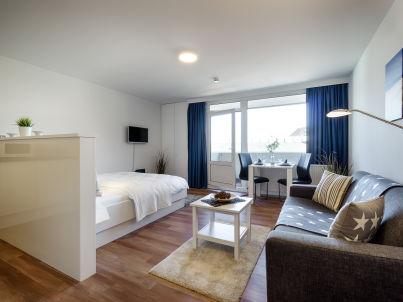 """1-Zi-Apartment """"City-Suite"""" + Schwimmbad im Haus"""