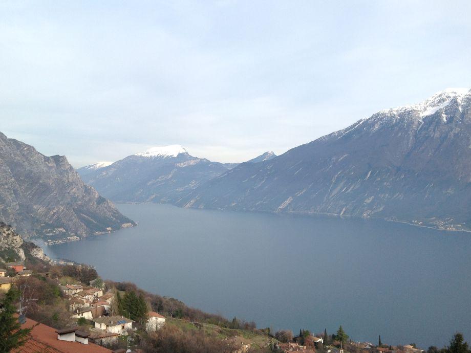 Blick von Terrasse - richtung Riva