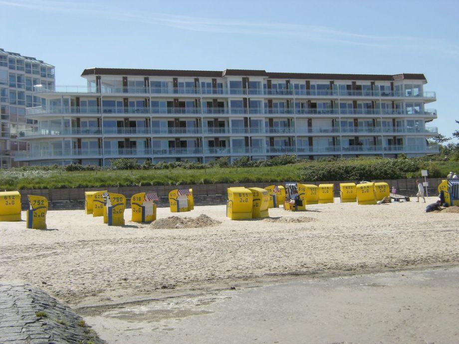 Sicht vom Strand