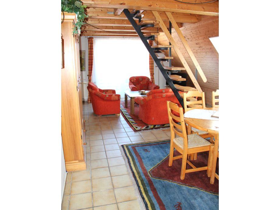 """haus wohnzimmer oben:Ferienwohnung 4 Personen """"Wopke"""", Haus Swarte-Evert, Borkum – Herr"""