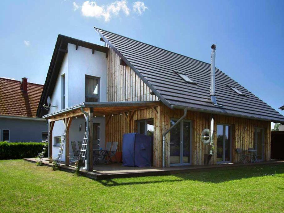 Das Ferienhaus mit Garten