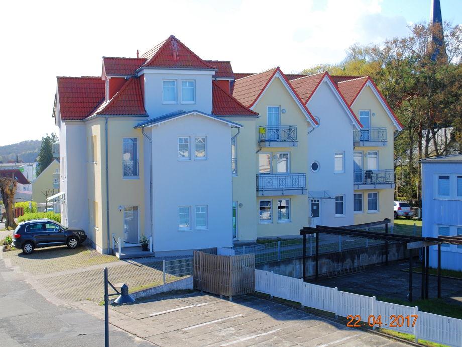 Blick von der Wilhelmstr. auf das Haus