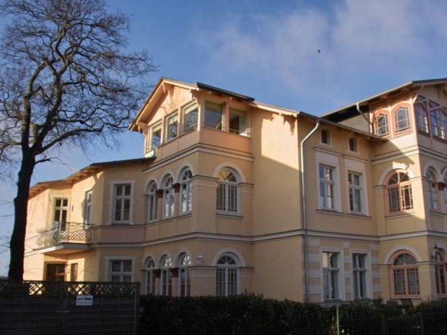 Ansicht des Hauses von der Kaiserstr. aus.