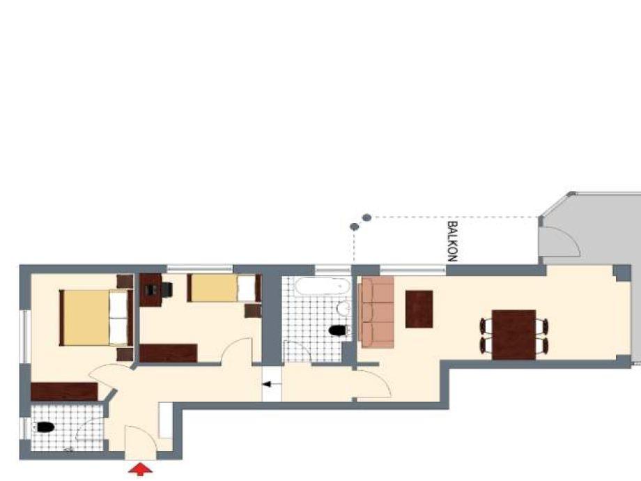 ferienwohnung villa strandoase app 01 insel usedom seebad heringsdorf firma csi christian. Black Bedroom Furniture Sets. Home Design Ideas