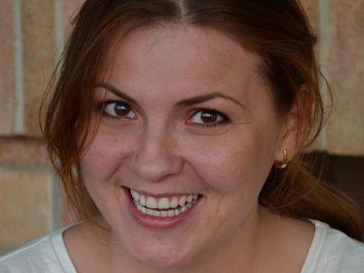 Your host Elena Schirmer