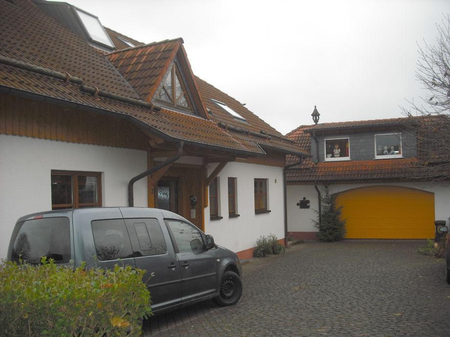 Hof- und Eingangsbereich