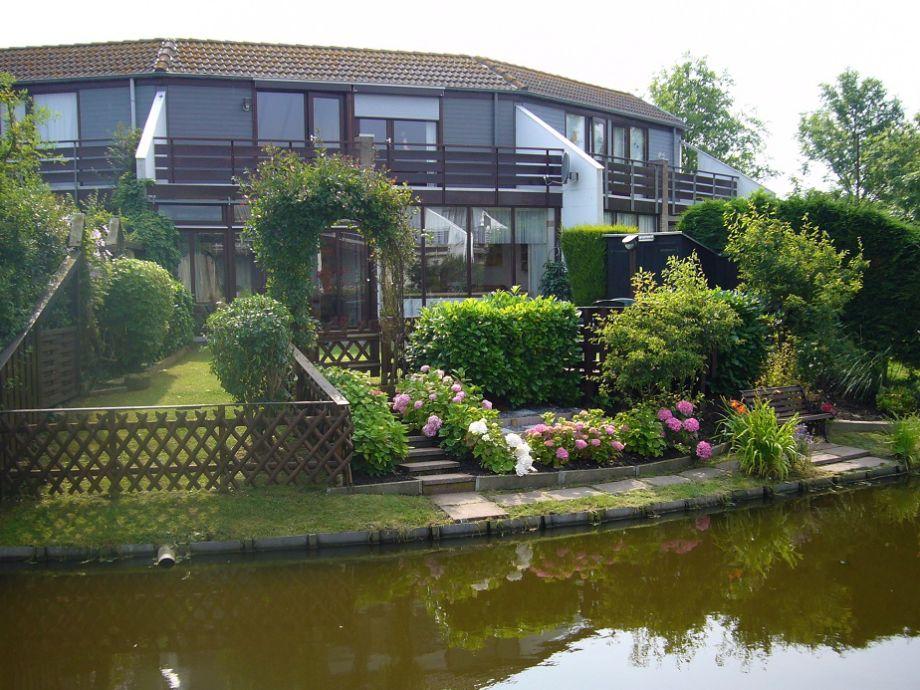 Gartenansicht vom Teich