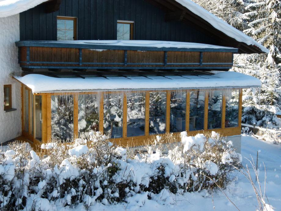 beim Goldbachl Peppi im Winter