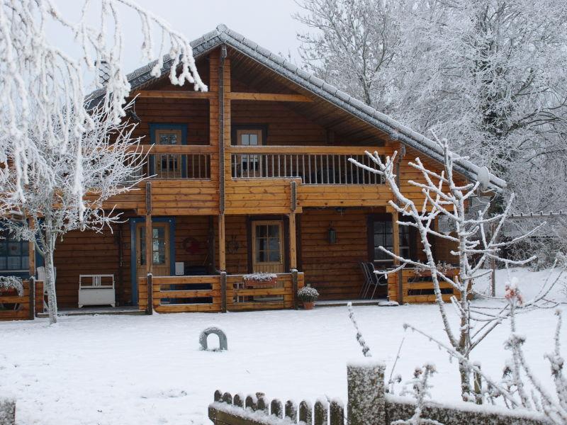 Ferienhaus - finnische DHH mit Sauna u. Kaminofen -  Nr. 1