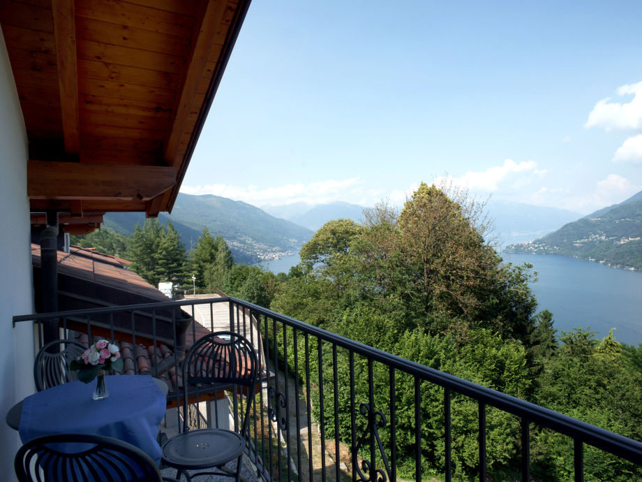 Balkon mit fantastischer Seesicht