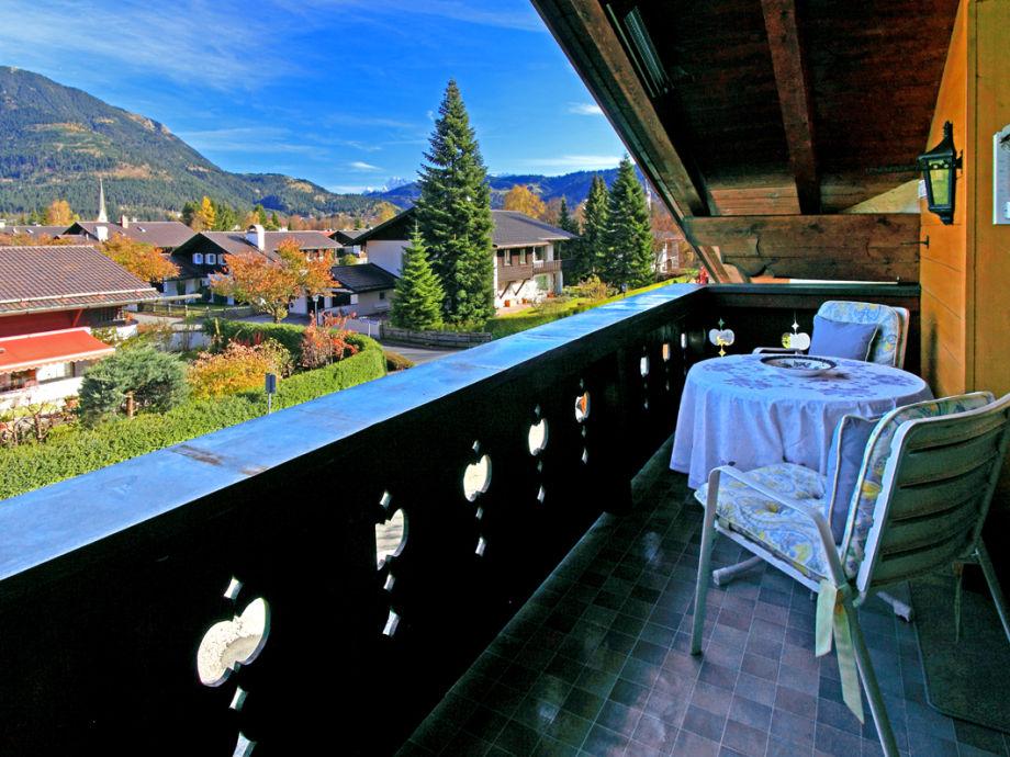 Blick vom Balkon DG
