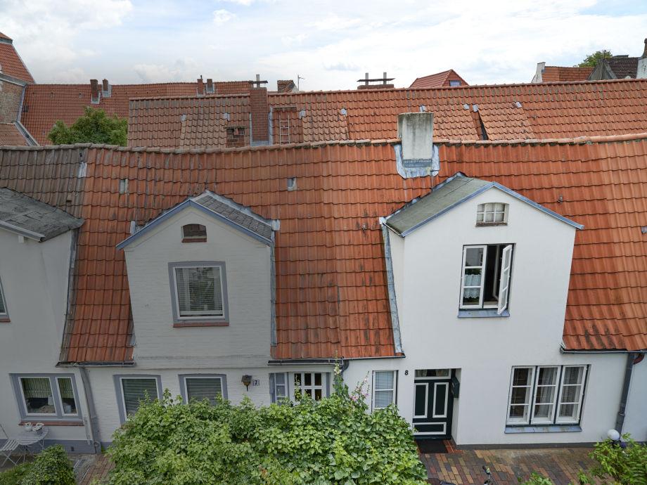 Außenaufnahme Altstadtganghaus Rössger - Haus 8