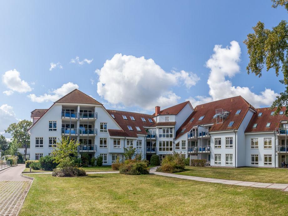 Innenhof Ferienanlage Likedeeler