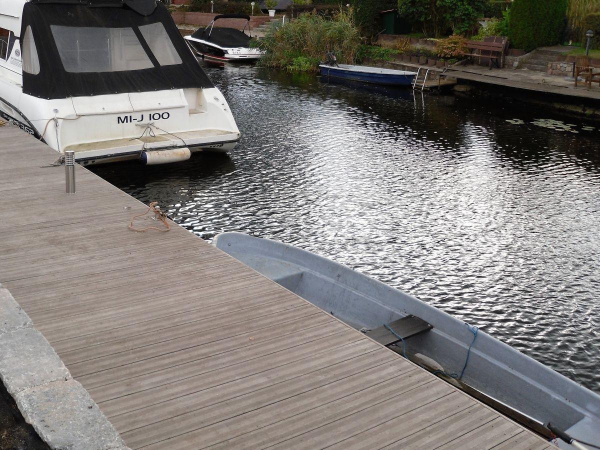 Ferienhaus Blockhaus zur Havel mit Wasserzugang (Boot
