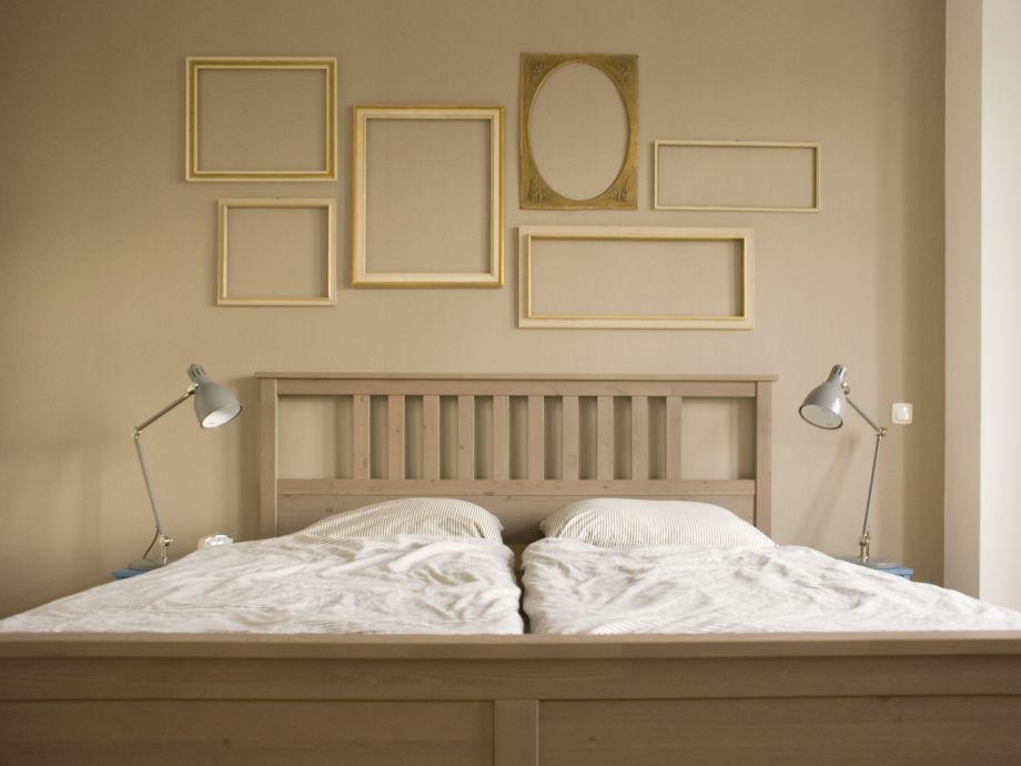 Das Bett im Schlafzimmer für erholsame Träume