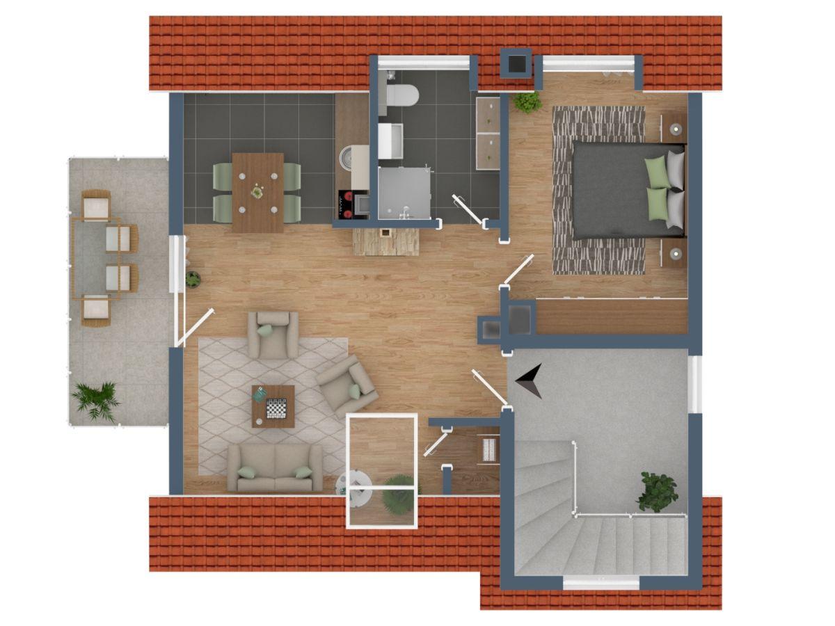 ferienwohnung wei es haus niendorf ostsee. Black Bedroom Furniture Sets. Home Design Ideas