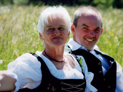 Ihr Gastgeber Josef und Sieglinde Martin