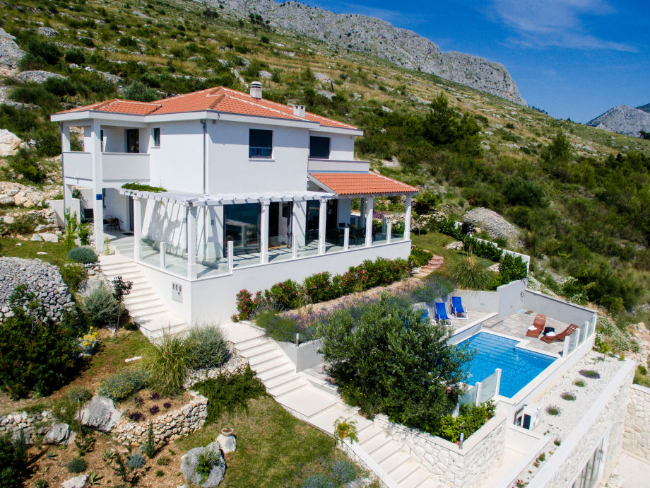 Außenaufnahme Villa Parsella