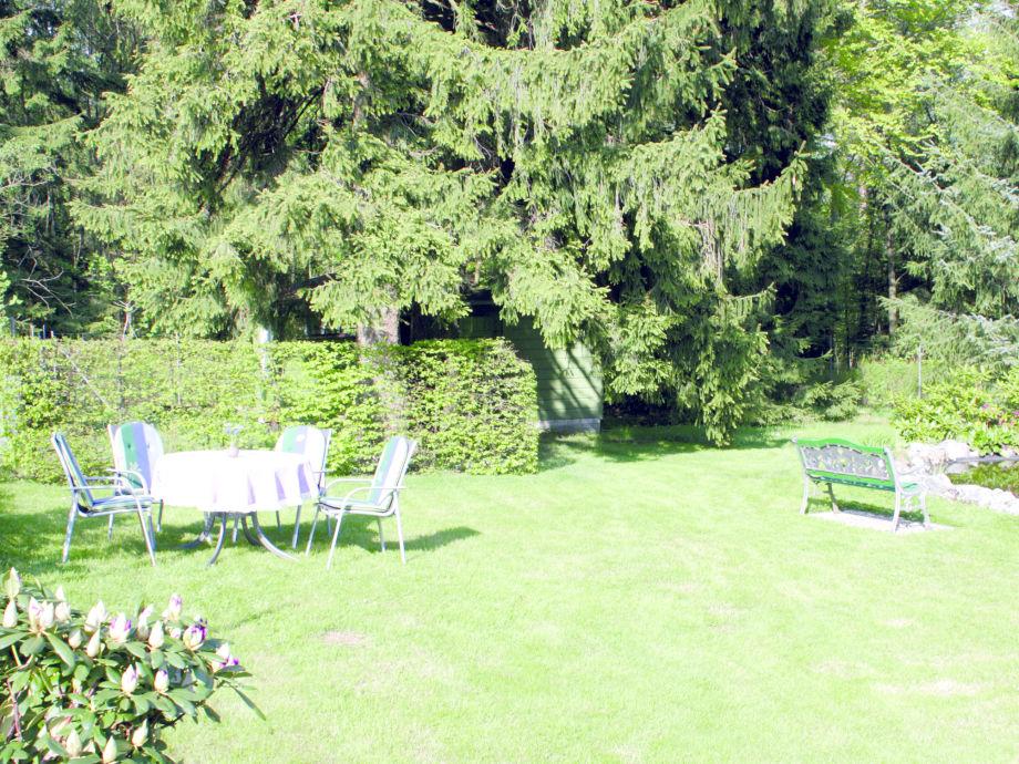 Garten Haus Jordan im Winter
