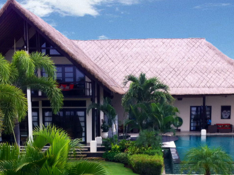 Außenaufnahme Lovina Beach villa