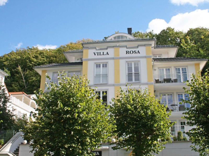 Ferienwohnung 09 StrandGut in der Villa Rosa