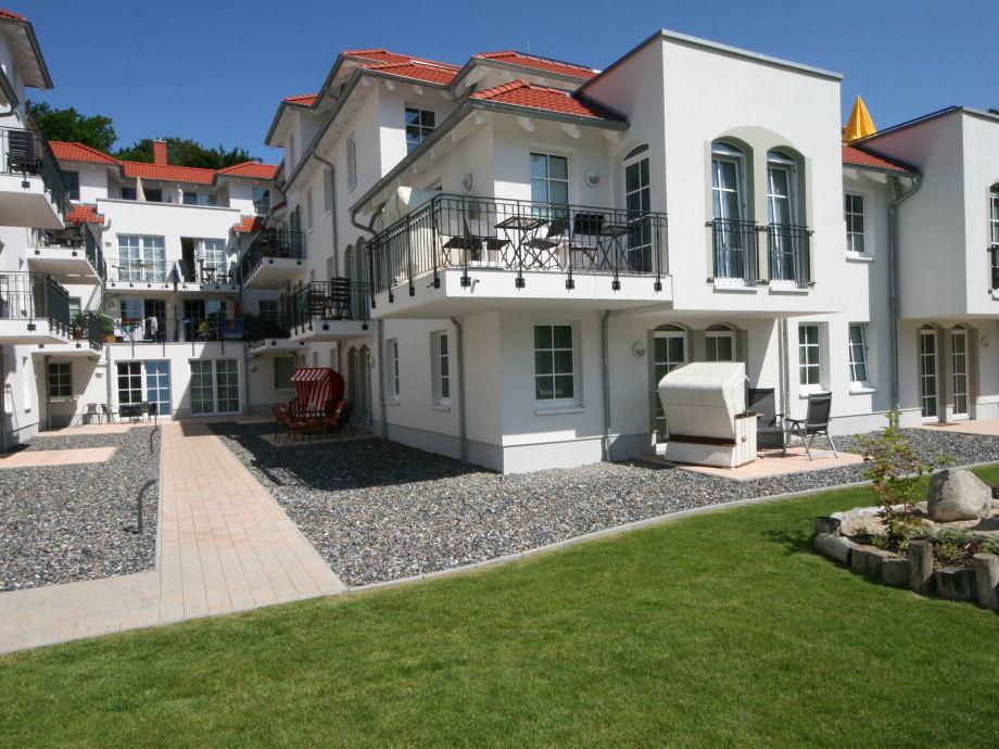 Außenaufnahme Weiße Düne im Haus Meeresblick