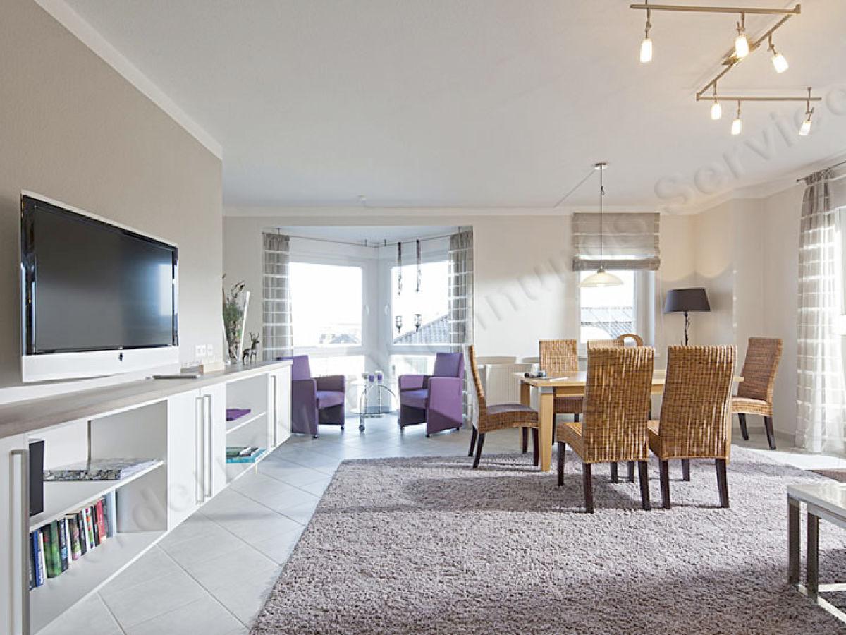Ferienwohnung villa nordland penthouse norderney firma for Wohnraum einrichten
