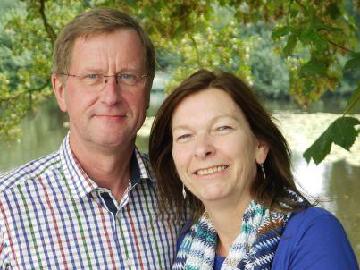 Ihr Gastgeber Petra und Dierk Oltmann