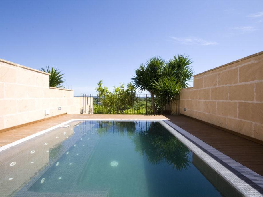 Der private Pool und eine tolle Aussicht