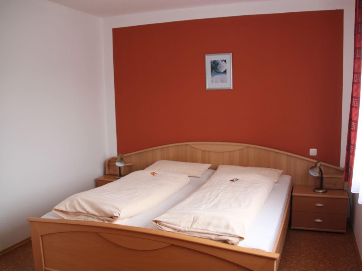 Wohnraum App.45 qm Schlafzimmer App. 45 qm