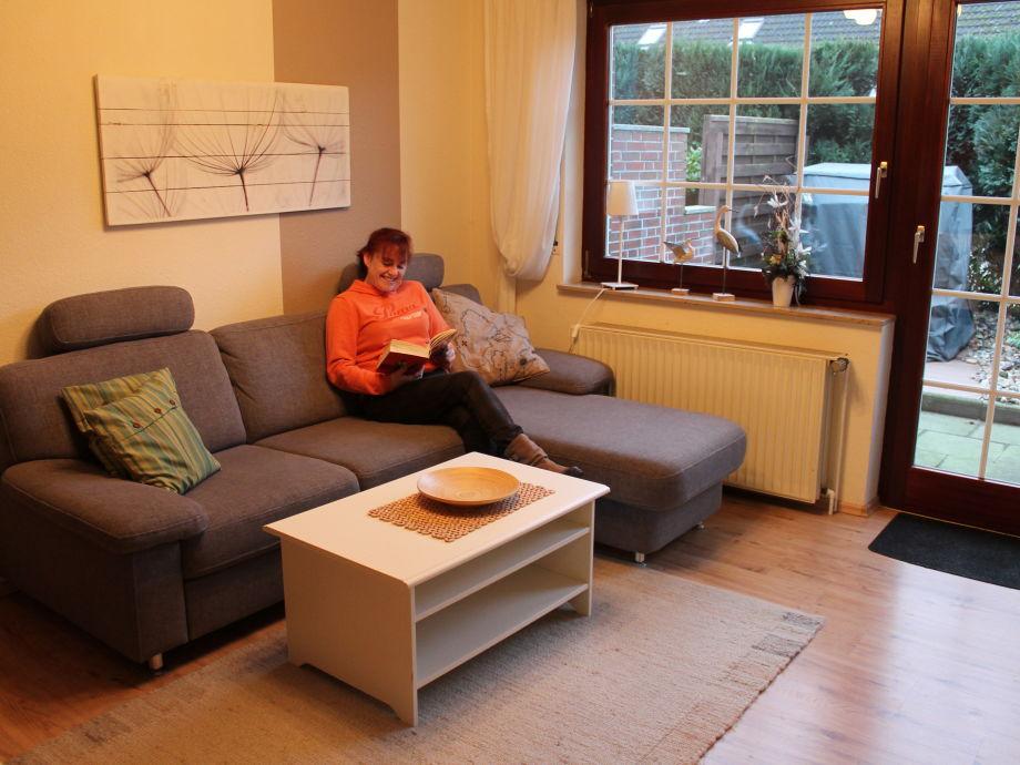 Der Wohnraum, gemütlich ausgestattet