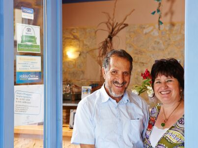 Ihr Gastgeber Petra + Kyriakos Zantiotis
