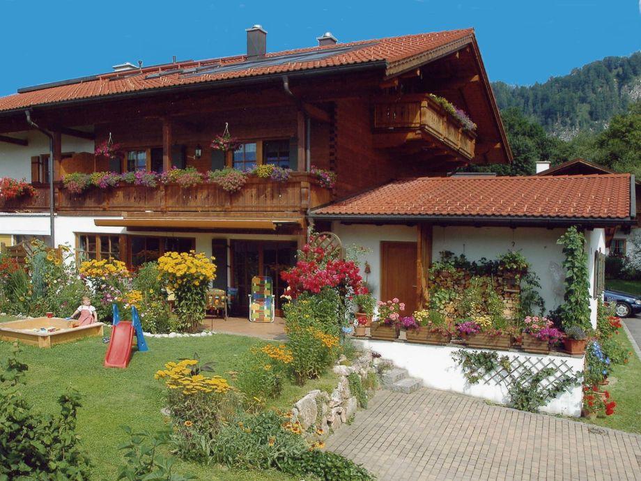 Außenaufnahme im Ferienhaus Kaiserfeld