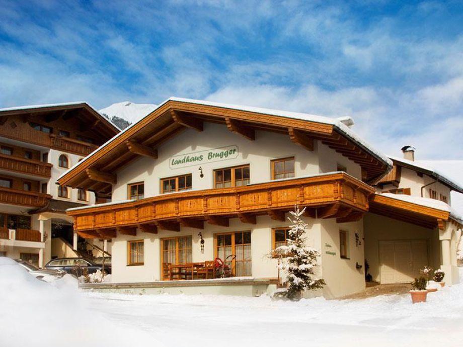 Landhaus Brugger im Winter